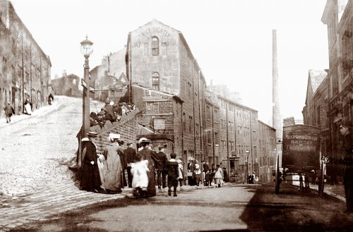Heptonstall Road and Bridge Lanes Late 19th c