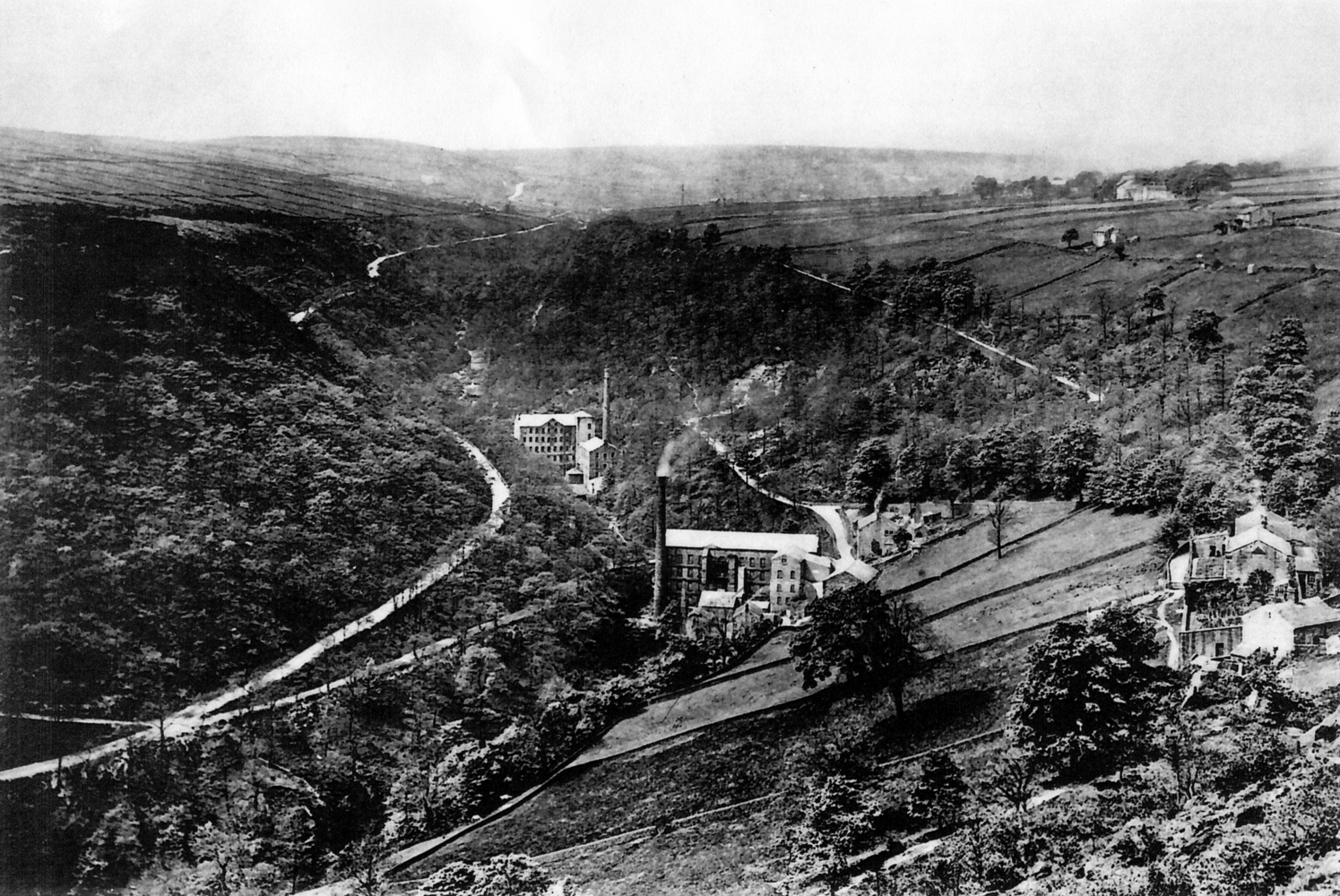 Upper and Lower Lumb Mills 1890